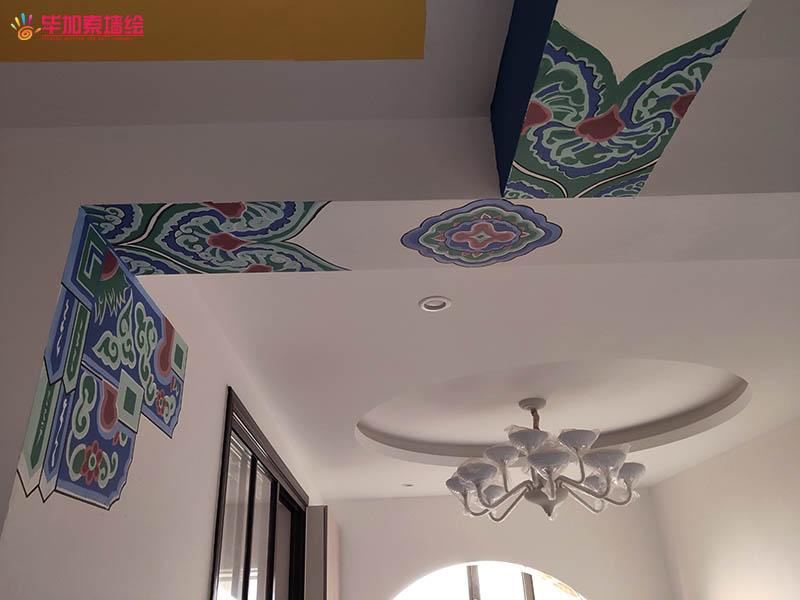 新中式装修雕梁画柱